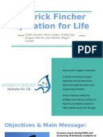 kendrick fincher hydration for life presentation powerpoint