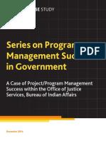 Government Program Success Bureau Indian Affairs