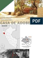 Análisis de Casa de Adobe - Tucume