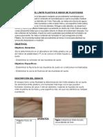 Determinación Del Límite Plastico e Indice de Plasticidad