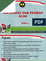 Distribusi Dua Peubah Acak-PSM1 Sugiman