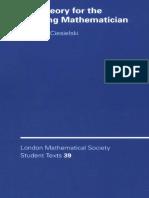 Set Theory for the Working Mathematician - Krzysztof Ciesielski - 1997