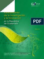 Relevamiento de La Investigación y La Innovación en Guatemala