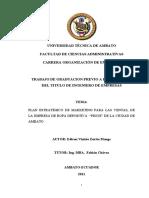 Plan Estrategico Ropa Deportiva