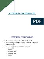 2.3 Integrity Constraints