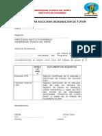 a1 Designacion de Tutor