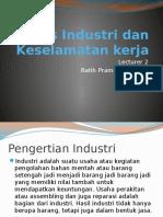 Proses Industri Dan Keselamatan Kerja