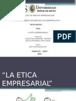 La Etica Empresarial