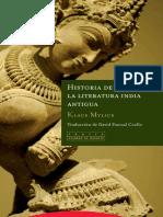 Historia de La Literatura India Antigua - Klaus Mylius