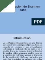 Codificacion de Shannon Presentacion
