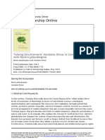 Saving the Ecosystem (1)