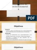 Fundamentos de Espectrofotometría