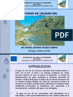 1.Introducción Curso de Calidad Del Agua. Sanitaria