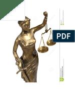 símbolo de justicia