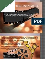 ¡IMPERDIBLE! Beca Para Estudiar Cine en Madrid