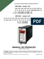 URP6000 URP6001 v2.25 r02 Capítulo 1 Apresentação