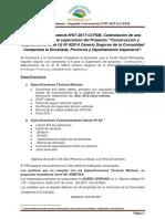 Contratación de Una Camioneta Pyto Sogoron - Segunda Convocatoria N07-2017-LG-FSM