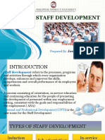 staffdevelopment for nurses.ppt