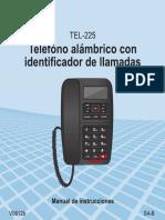 TEL 225 Instructivo