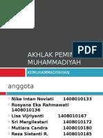 Akhlak pemimpin muhammadiyah.pptx