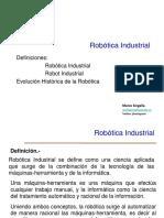 1 Definiciones Evolución Robótica Industrial