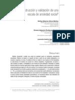 construccion y validacion de una escala de ansiedad social.pdf