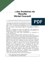 Além Das Fronteiras Da Filosofia - Michel Foucault - BPI