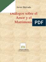 Hervada Javier - Dialogos Sobre El Amor Y El Matrimonio.pdf