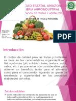 Frutas y Hortalizas Grupo 1