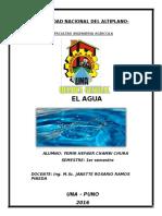 Doc Monografia de Agua