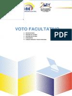 Voto Facultativo 2014