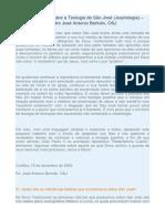 100 Questões Sobre a Teologia de São José (Josefologia) - Pe. José Antonio Bertolin, OSJ