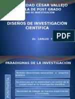 2015 UCV EP - Diseños de Investigación Científica MGP