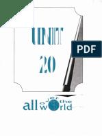inglés Unidad 20