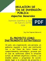 Aspectos Generales Inversión Publica