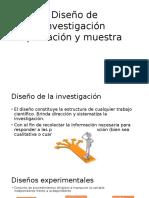 Diseño de Investigación Población y Muestra