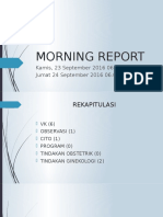 Morning Report 23-24 Sept