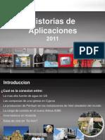 Historias de Aplicaciones Vision