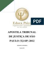 Apostila TJ SP 2012 Completa
