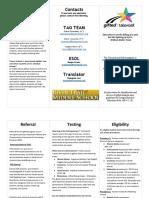 eligibility brochure