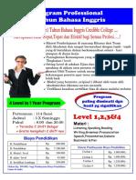 Brosur Program 1 Tahun B.inggris 2015