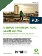 Menuju Indonesia Yang Lebih Setara