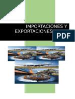 Importación y Exportación en El Perú