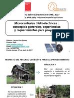 Microcentrales Hidroeléctricas - Conceptos, Experiencia y Requerimientos