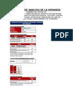 Informe de Analisis de La Demanda Larcay