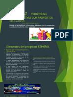 PRESENTACIÓN POR LA MAESTRA:Los Elementos Del Programa de Español de 1° a 6° grado