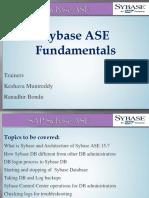 Sybase Fundamentals