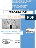 Plan de Negocio Monografia