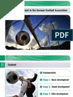 AEFCA_Warsaw 2010_presentation_daniel_Talent Development in the German Football Association En