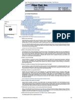 FAQs, Plastic Thermoforming, Vacuum Forming, & Rotational Molding - Fiber Pad, Inc